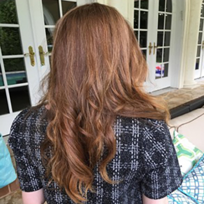 real hair wig,brown wig,soft hair wig,long wig,lon island wigs store,long island wigs shop,long island wigs stylist,red brown lace wig,orange red brown wig,brown and red ombre wig,